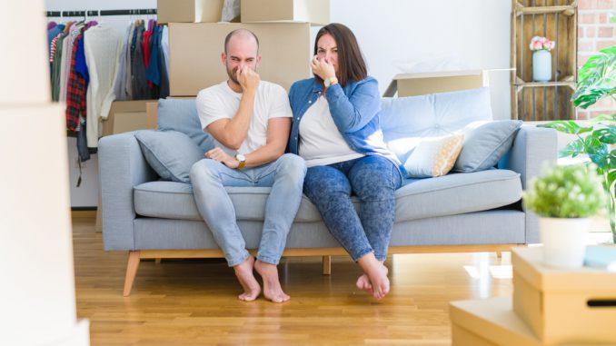 ammoniak geur in huis